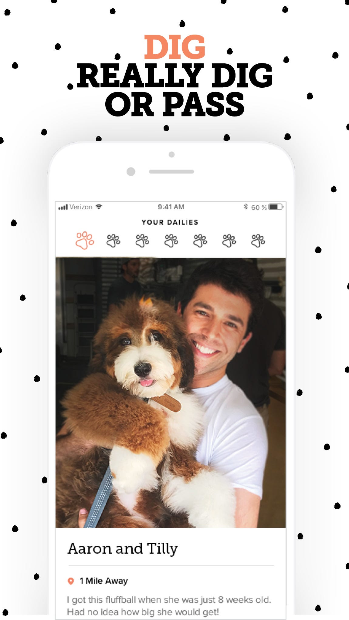 Must love dogs dating service