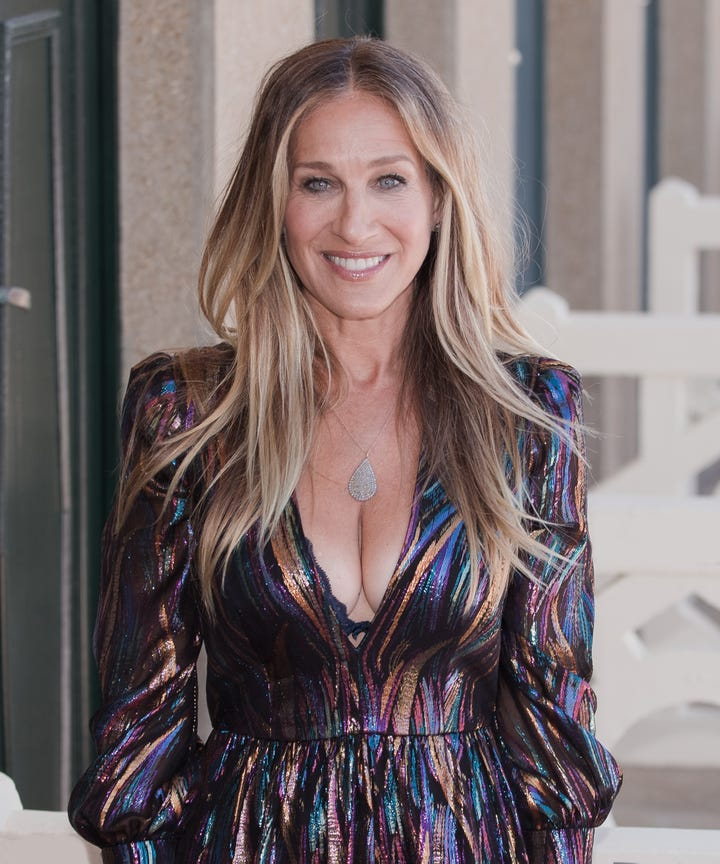 Sarah jessica parker sex and the city fashion
