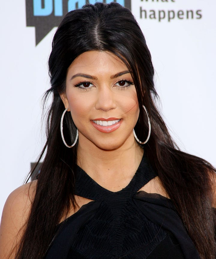 Kourtney Kardashian Ageless Minimalist Makeup Trend