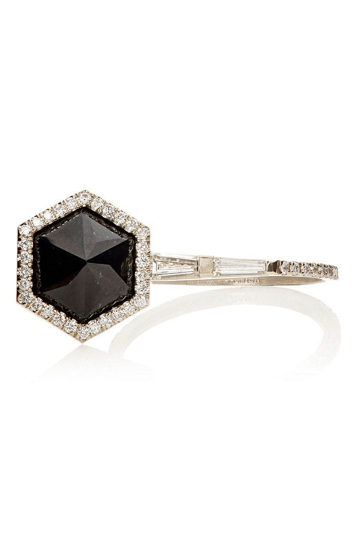 howlite gold jewelry diamond product gallery and metallic fernando ring lyst jade in jorge black normal rings