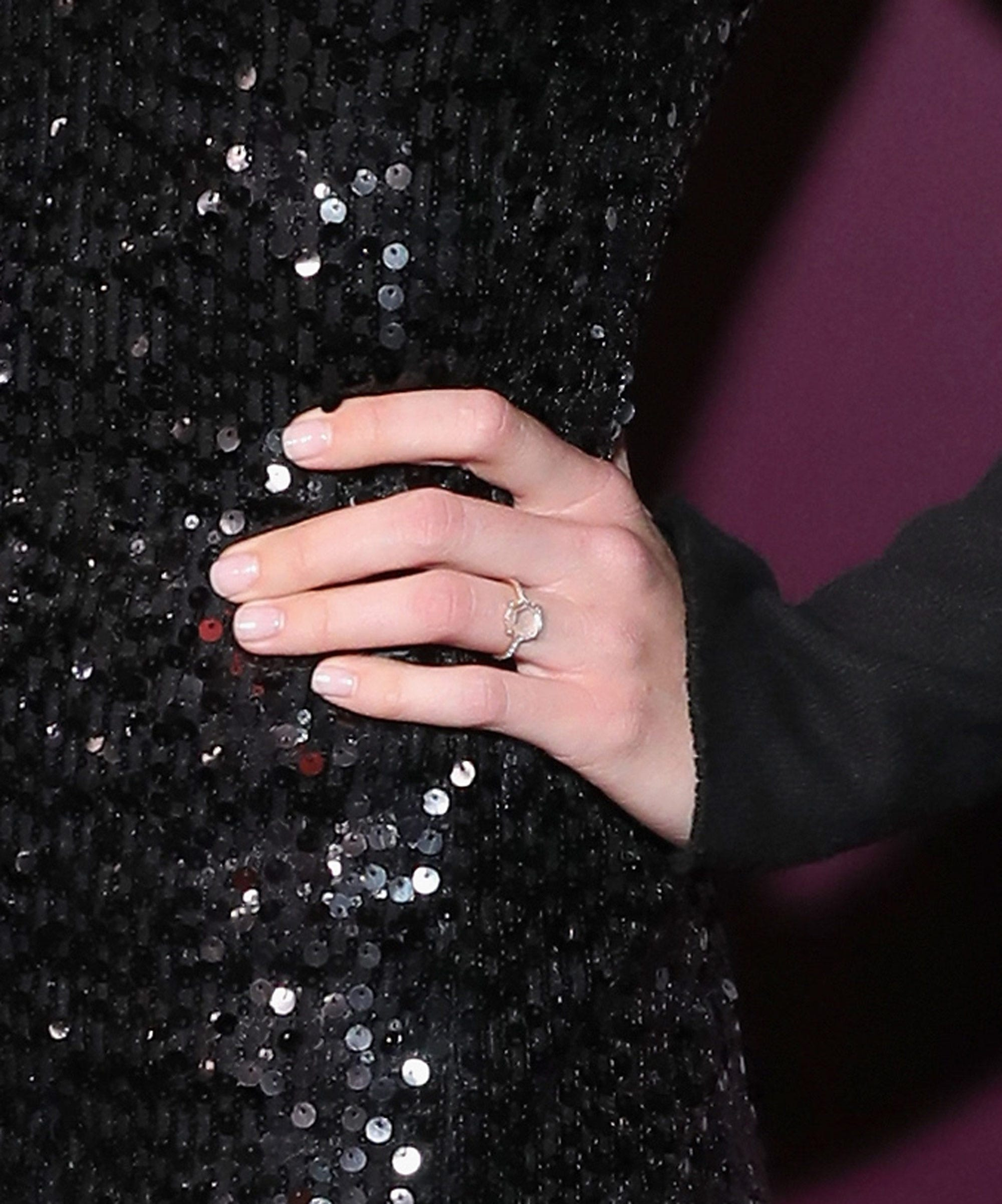 Mandy Moore Debuts Engagement Ring At Emmys Pre-Party