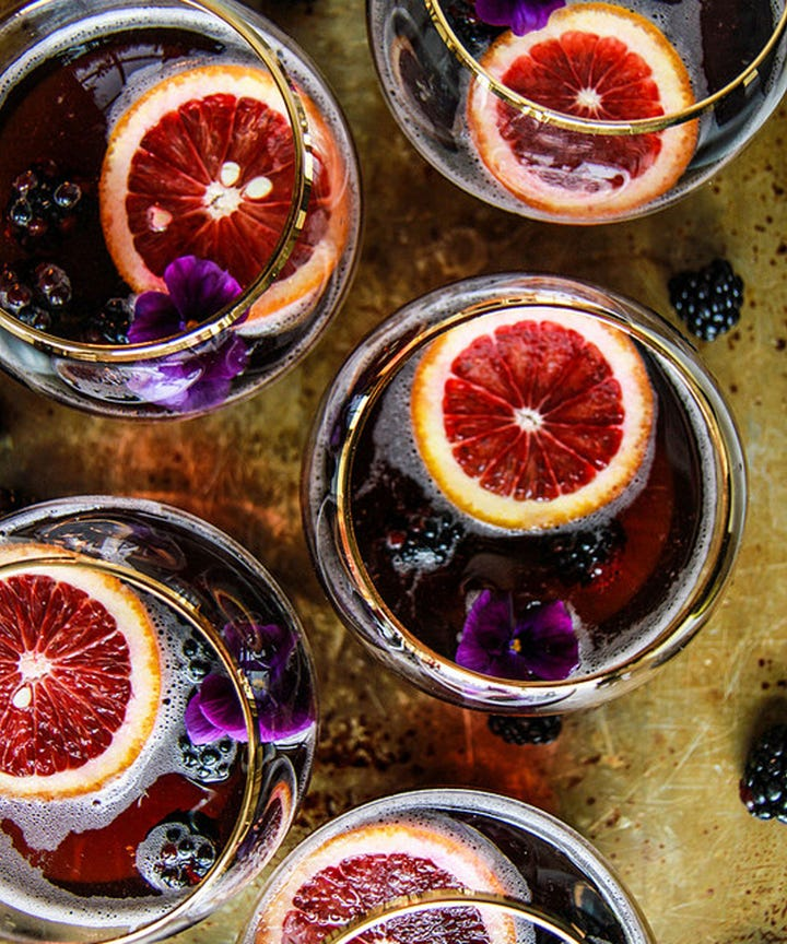 Halloween Cocktail Party Ideas Part - 21: 15 Easy Halloween Punches Weu0027re Completely Obsessed With