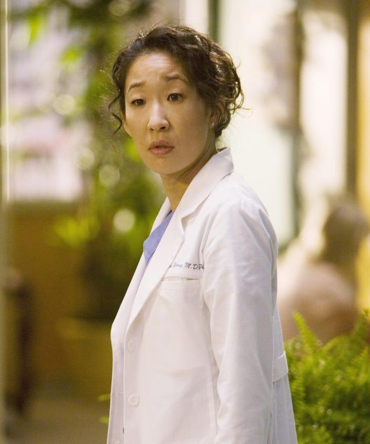 Kevin McKidd Sandra Oh Cristina Yang, Greys Anatomy