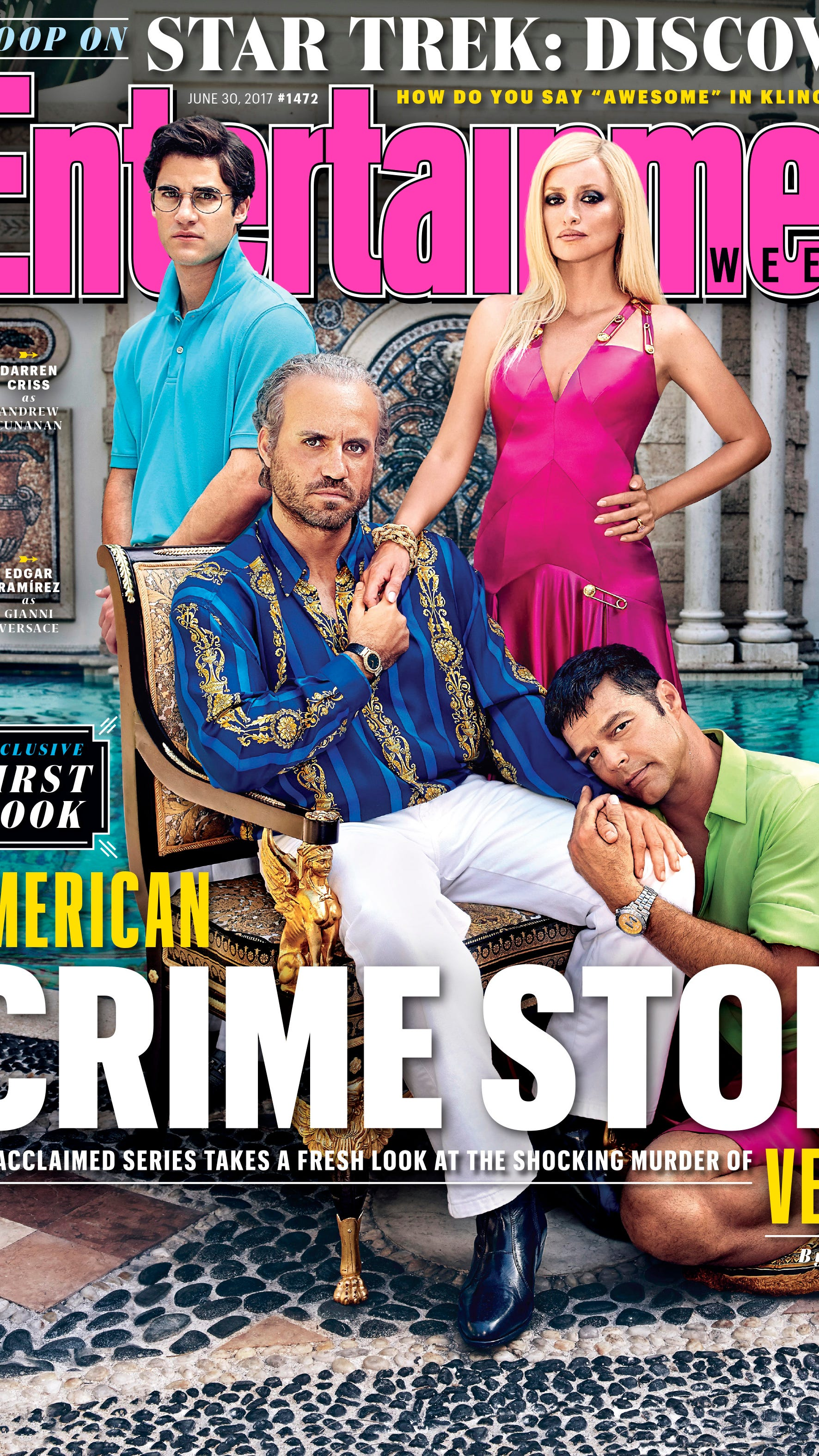American Crime Story New Photos Versace Cast