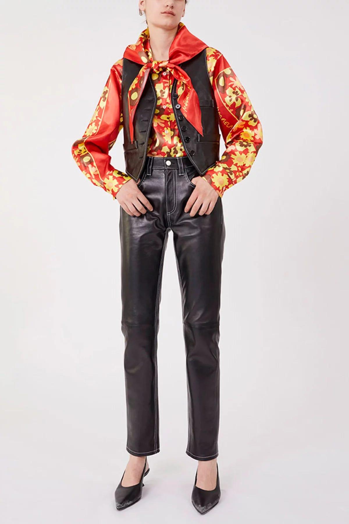 f49e298b4bd74 Leather Pants Trend Spring 2019, Vegan & Genuine Option