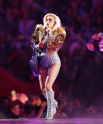 Gagas Makeup Cost Almost As Much A Super Bowl Ticket