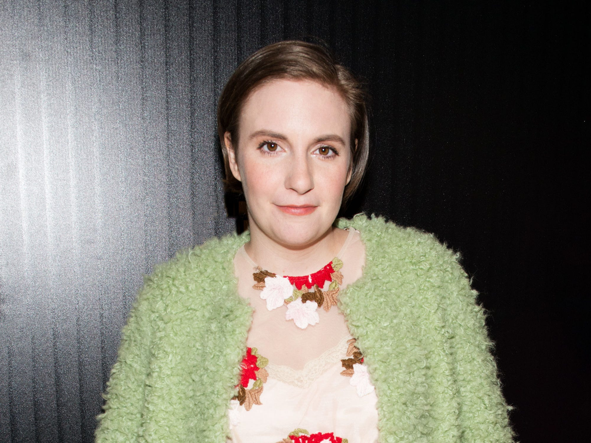 Lena Dunham Haircut Bangs Celebrity Haircuts