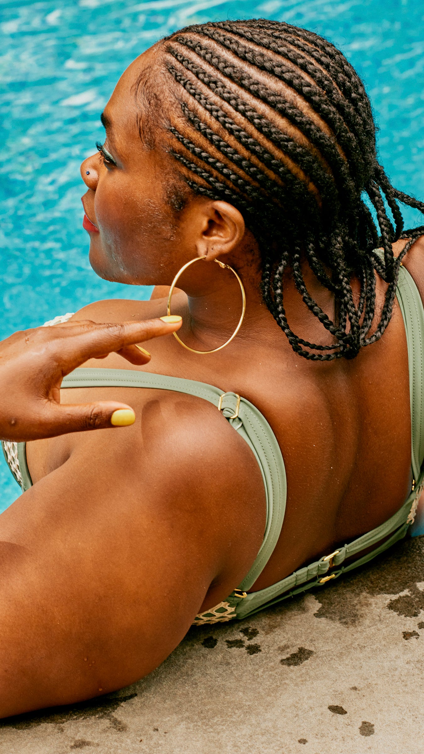 How To Braid Your Own Cornrows With Natural Hair Weaves