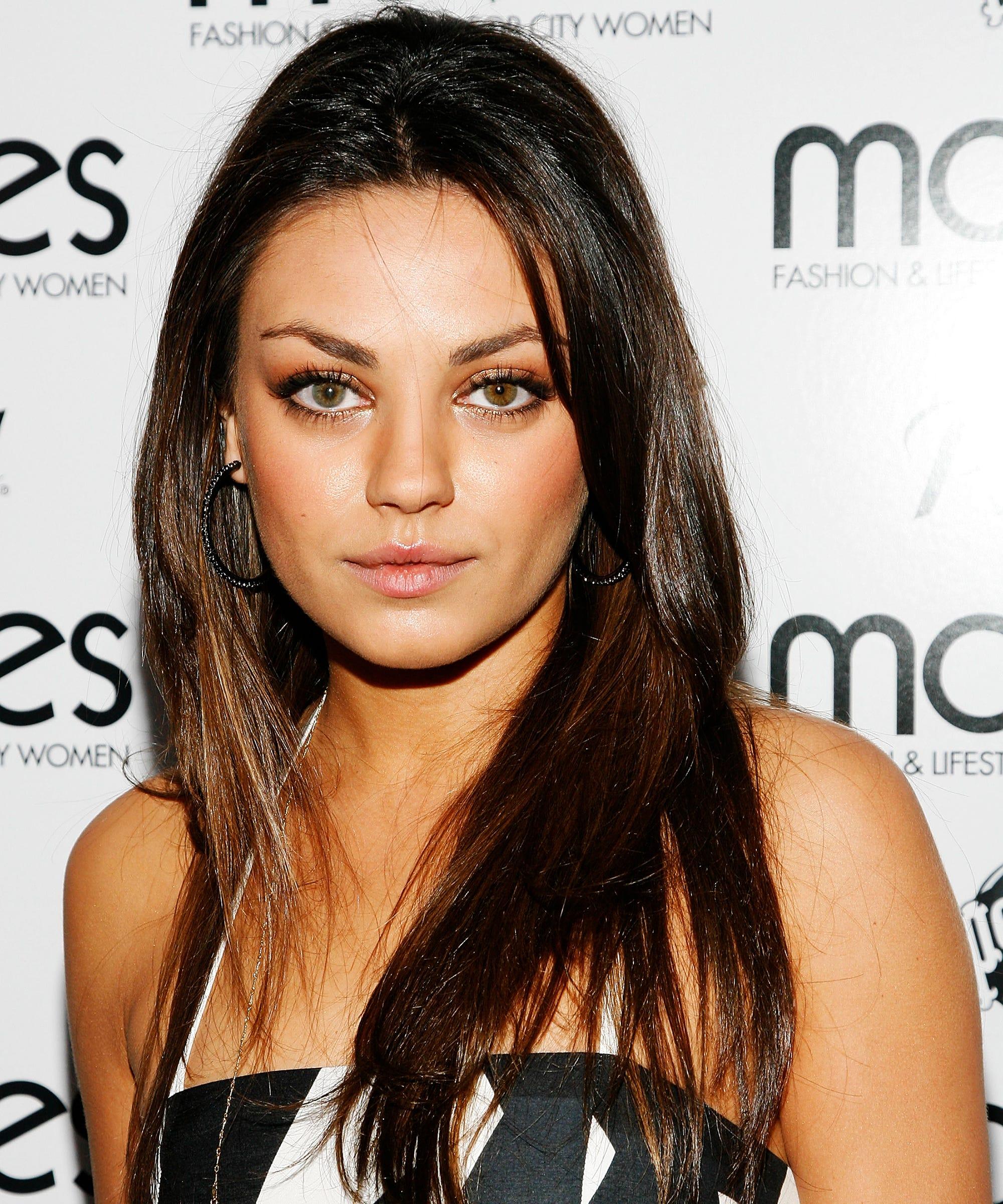 Mila Kunis Best Beauty Hair Makeup Looks Over The Years