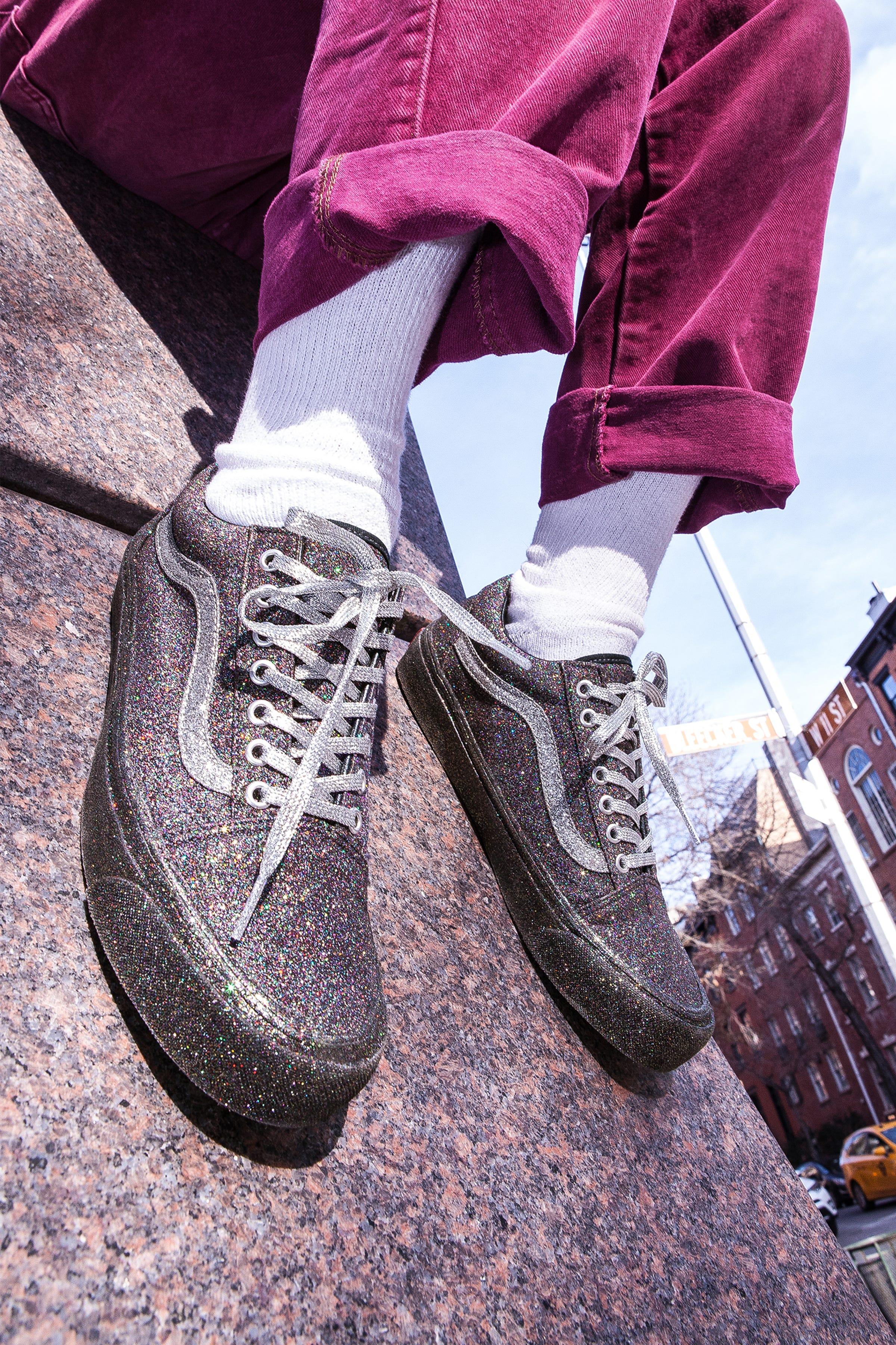 efa661b02ac Opening Ceremony Vans Glitter Sneaker Old Skool Collab