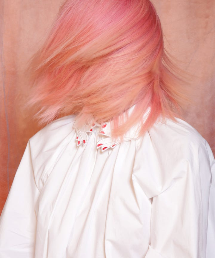 Peach Is The Official Hair Color Trend Of Summer But There S A Twist