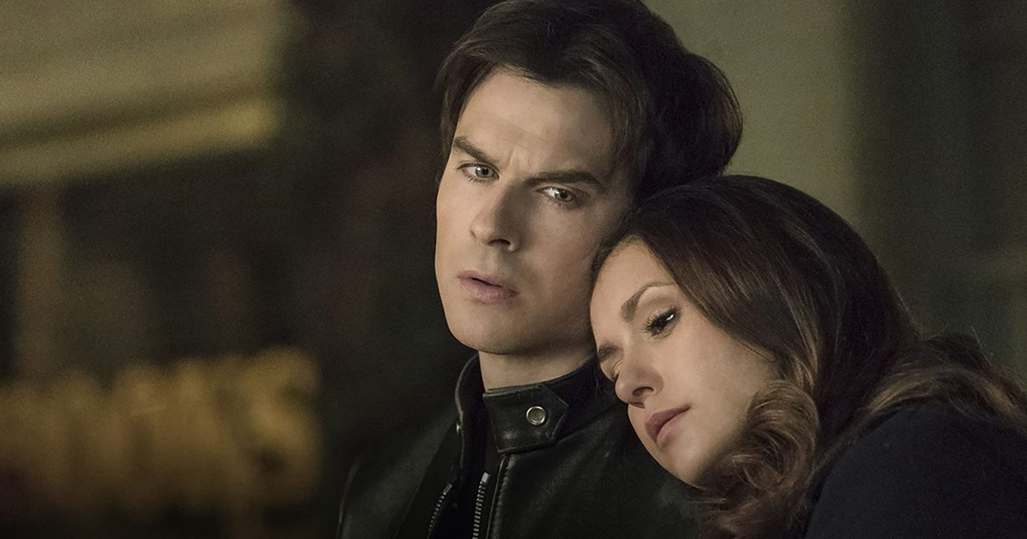 Image result for the vampire diaries damon and elena