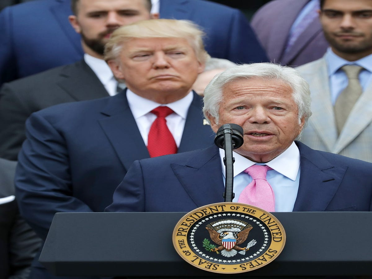 Trump Celebrated Super Bowl With Founder Of Sex Spa Where Robert Kraft Was Arrested