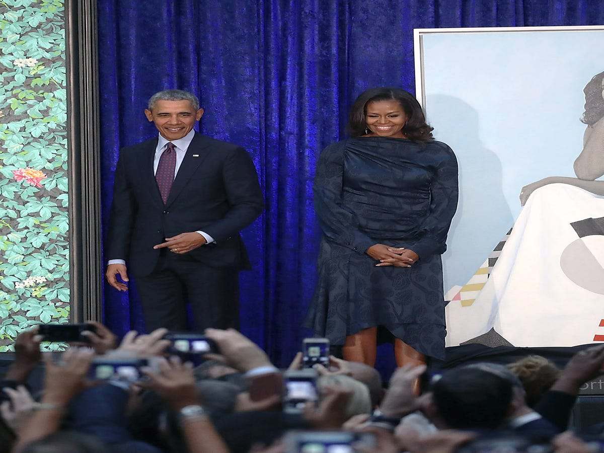 The Obamas  Official Portraits Are Here & They re Anything But Typical