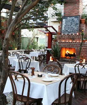 16 Outdoor Eateries Where You Can Hold Court