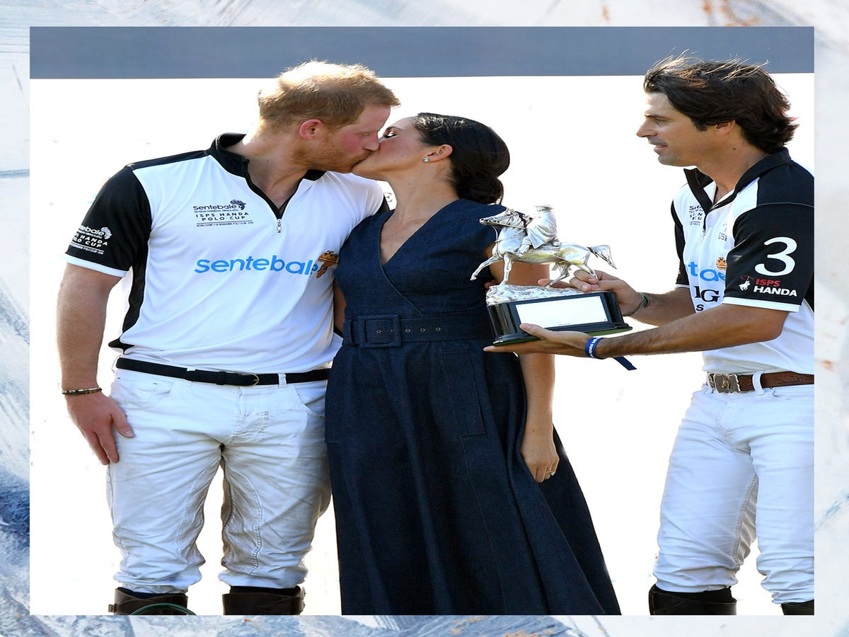 Prince Harry & Meghan Markle's Friend Actually Loves Being Their Third Wheel