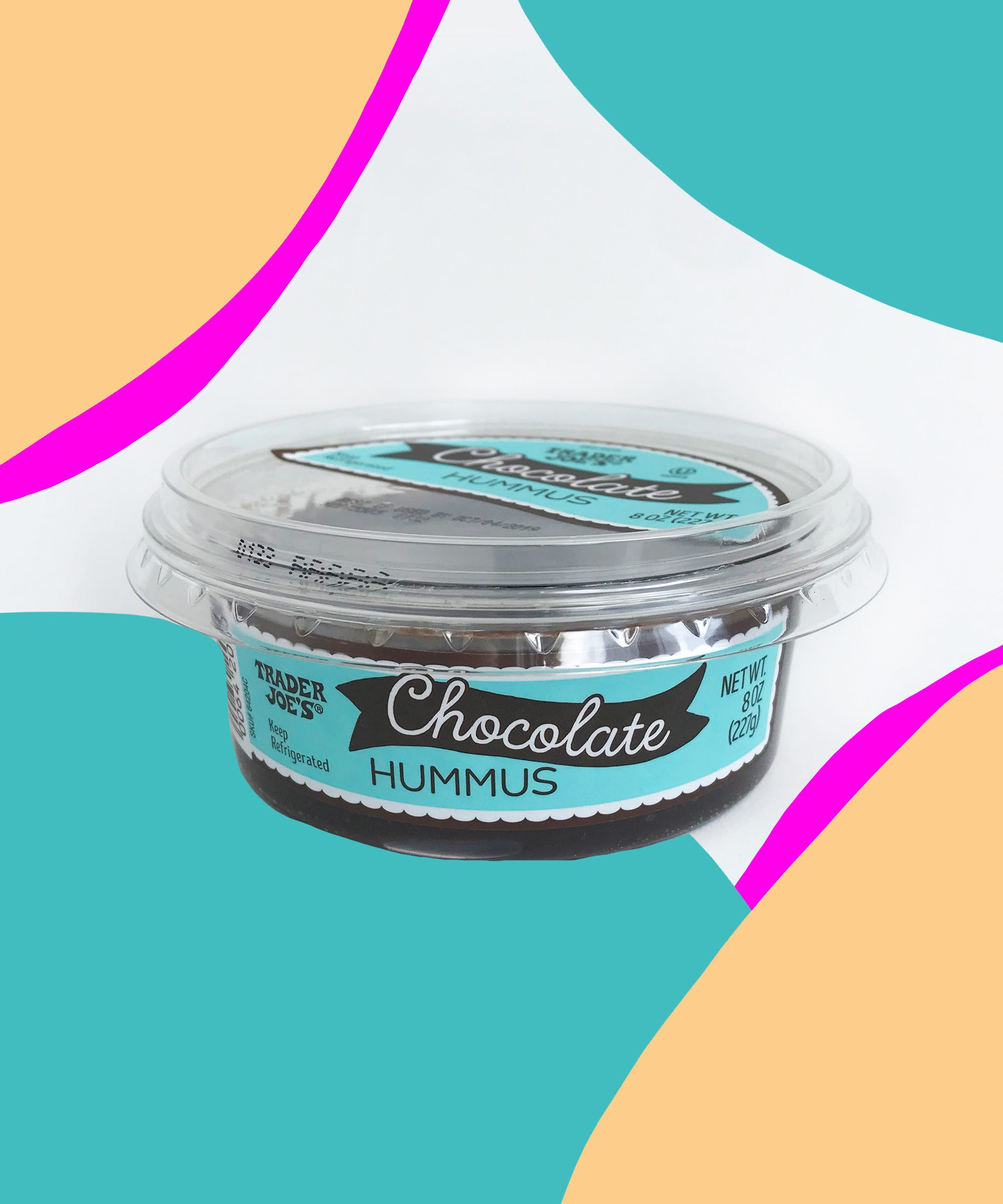 We Tried Trader Joe's New Chocolate Hummus So You Don't Have To