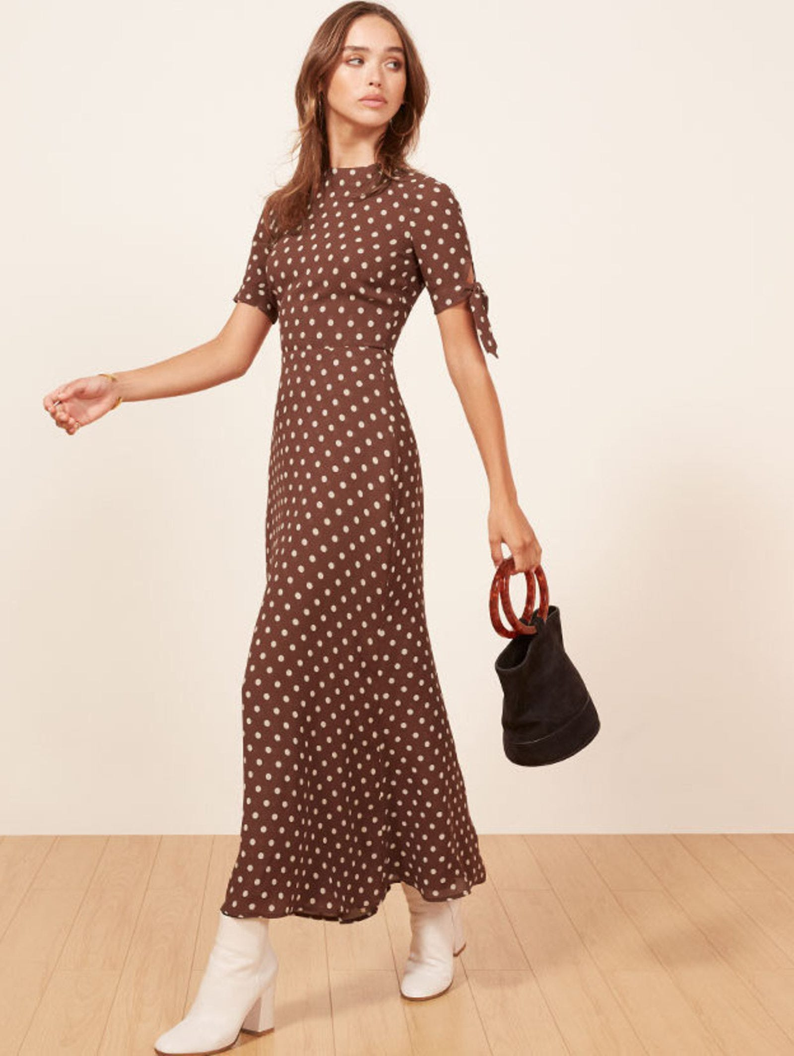 17b02629f72f4 Brown Polka Dot Trend