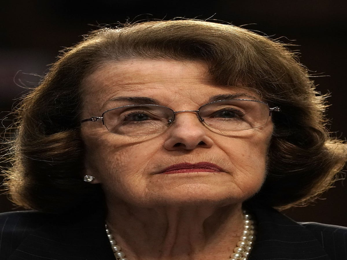Sen. Dianne Feinstein Clashed With Children Over Green New Deal & The Internet Isn't Happy