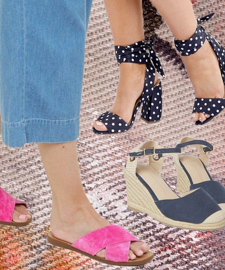 schuhe breite füße hoher spann damen