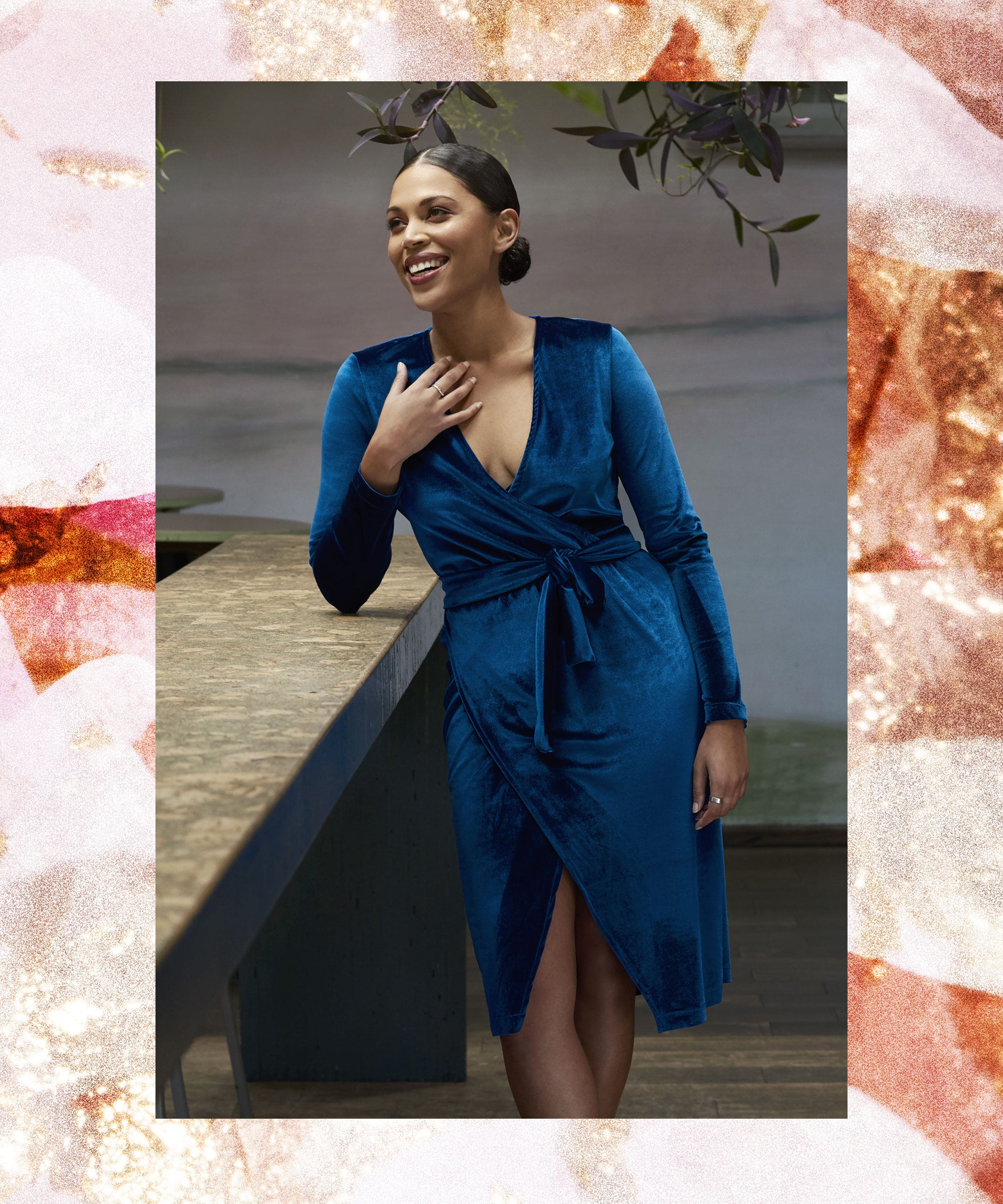 Mcgowans Rose gorgeous pixel print dress