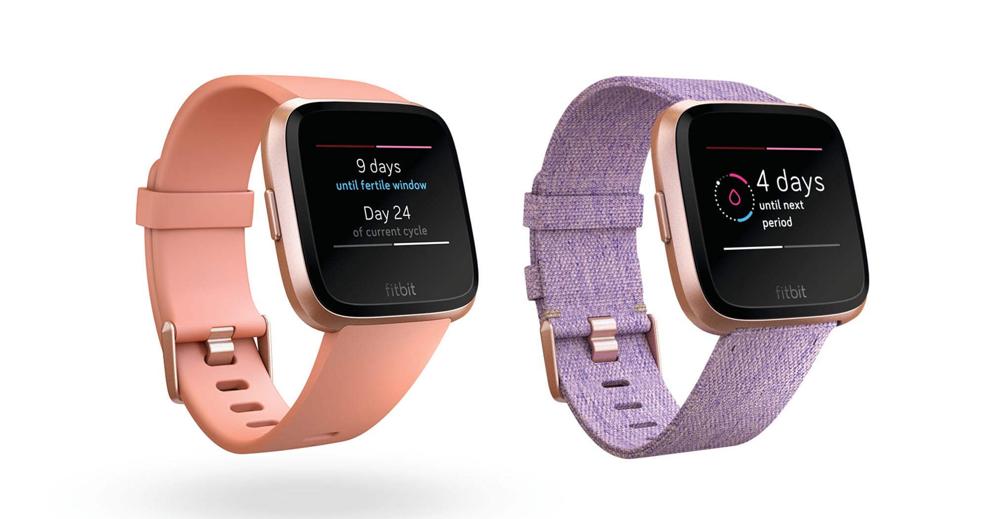 With New Features, Fitbit Aims To Become A Hub For Women's Health Data