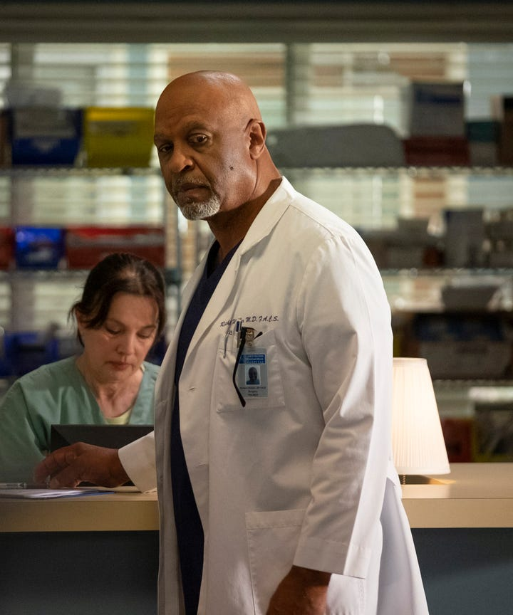 Greys Anatomy Season 15 Richard Webber Dark Storyline