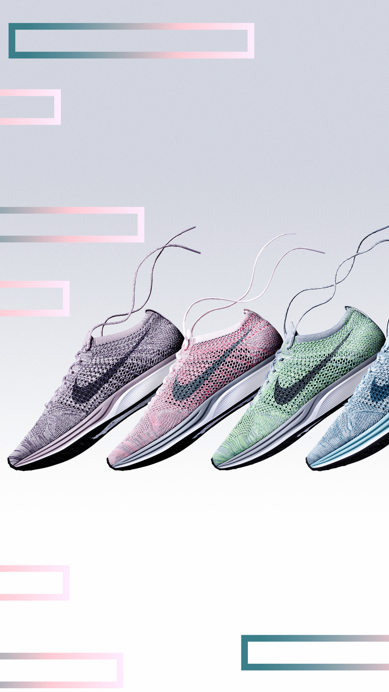 8c14156856768 order nike flyknit racer macaron pack on feet 79361 0cc15  where can i buy nike  flyknit racer sneaker new pastel colors collection 909e3 3a793