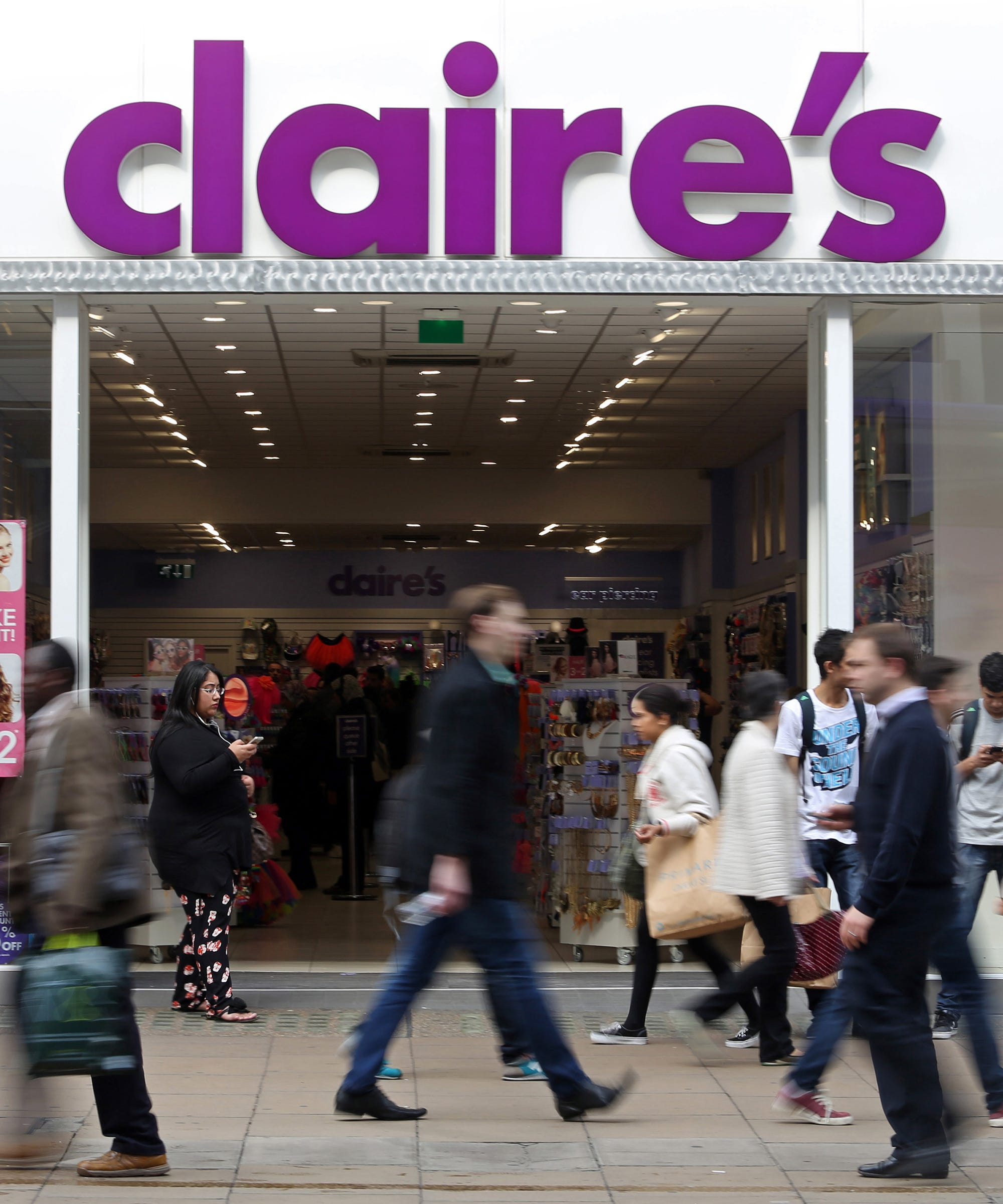 Why The Child Ear-Piercing Policy At Claire's Is Under Fire Right Now