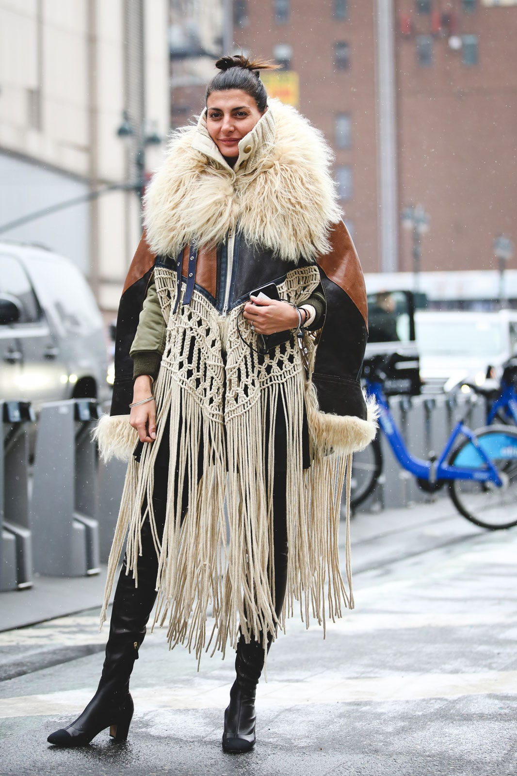 7f6648be NYFW Street Style Pictures Fall Winter 2016