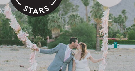 This Elegant Palm Springs Wedding Nailed Desert-Chic