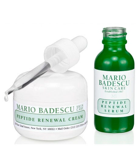 Anti Aging Mario Badescu Anti Aging Kit Before And After