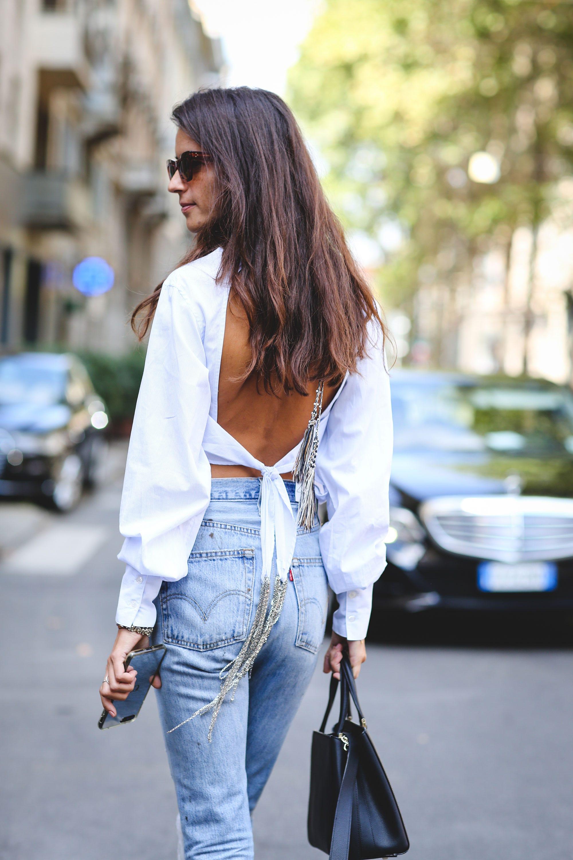 c7212db933 Milan Fashion Week Street Style SS18