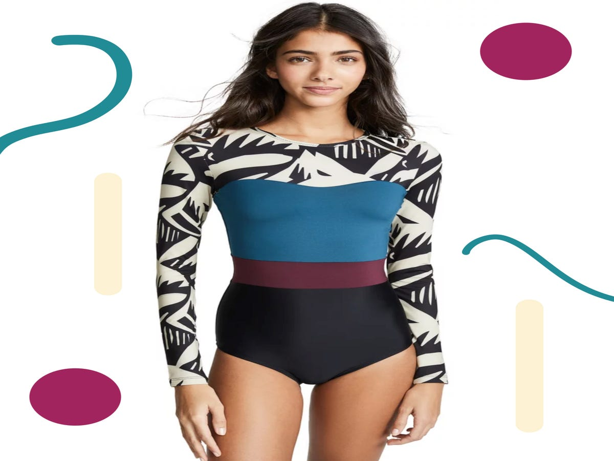 Embrace The Siren Call Of The Long-Sleeve Swimsuit