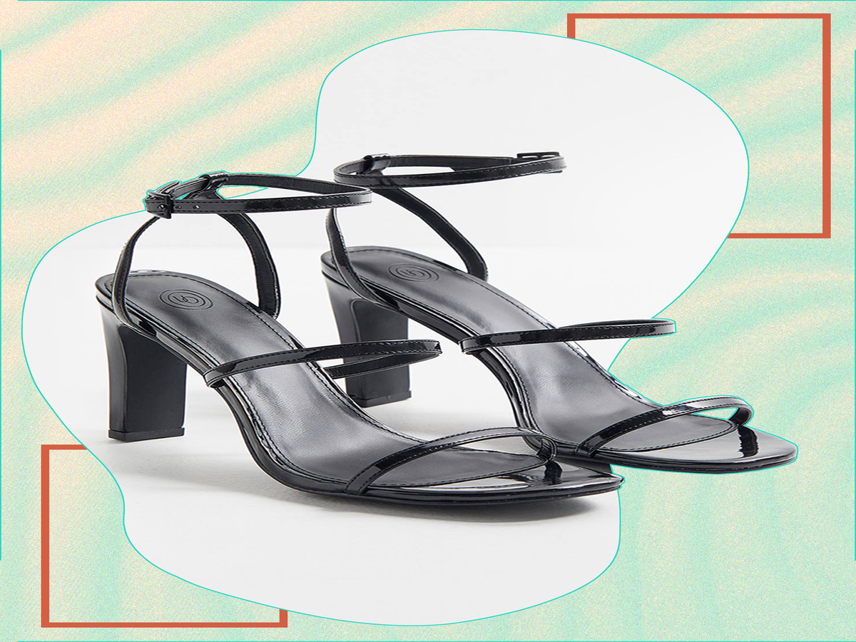 20 Black Strappy Sandals To Slide Your Feet Into This Spring