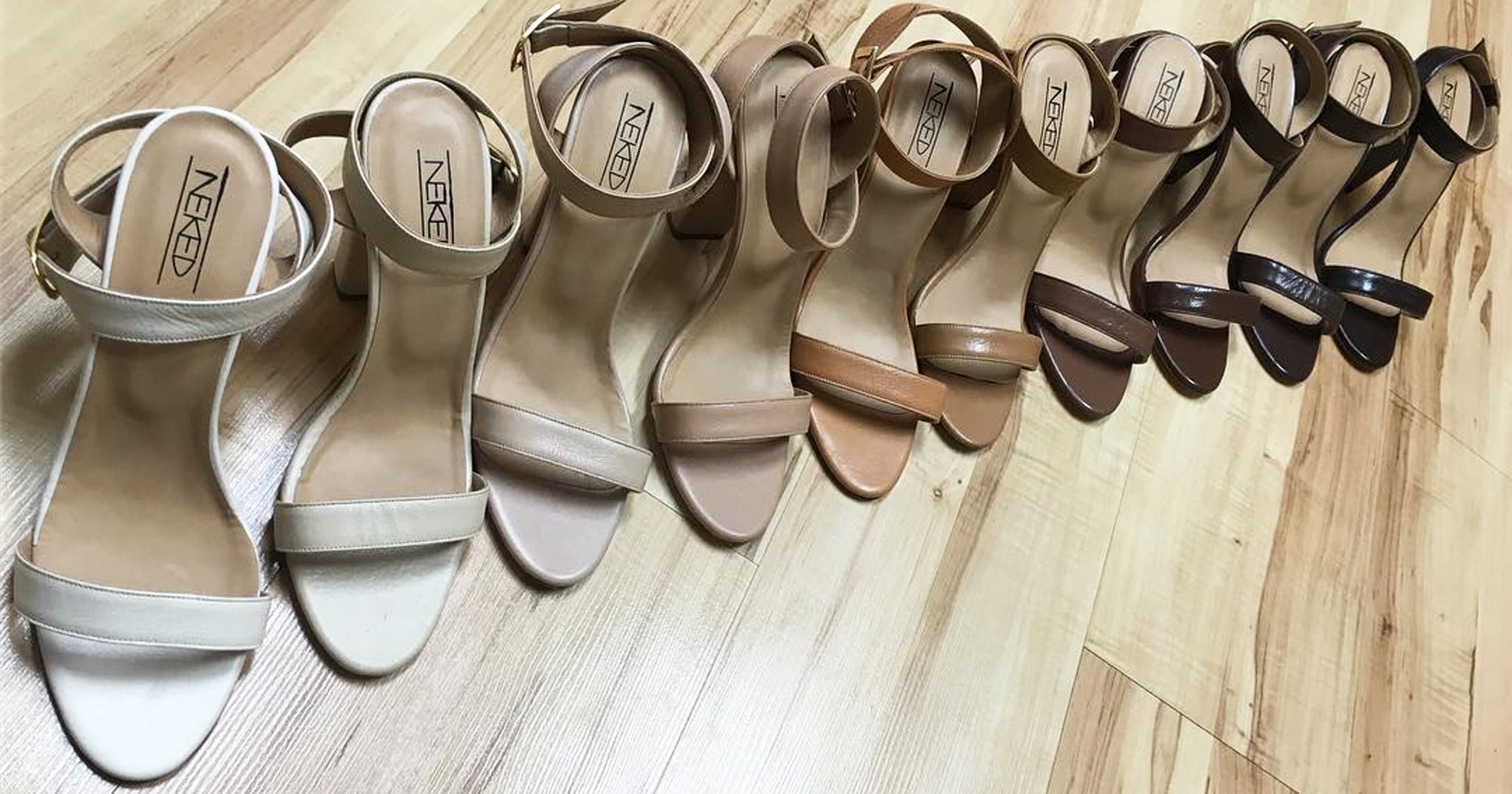 5bd4e35a12ea Nude Shoes Match Makeup Skin Tone Leather Collection