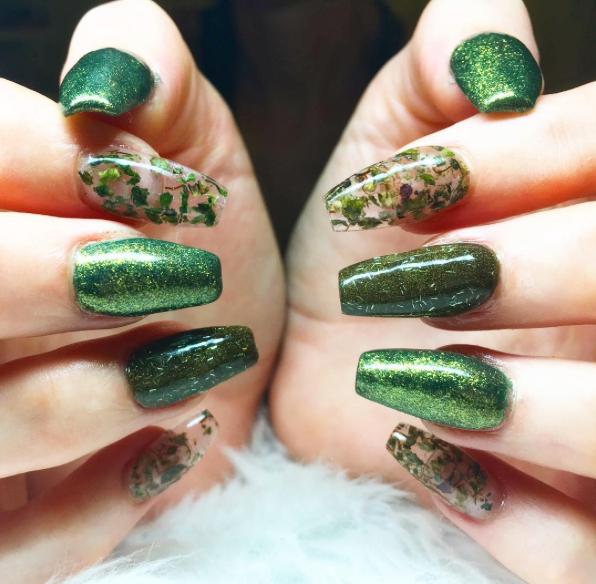 Weed Nails New Marijuana Trend Nail Art Design