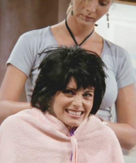 Monica Was Totally Jealous Of Rachel's Hair