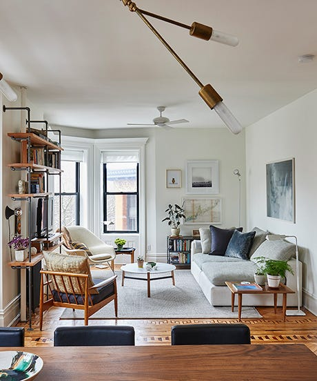 A Small-Space Brooklyn Home That's Classic AND Modern