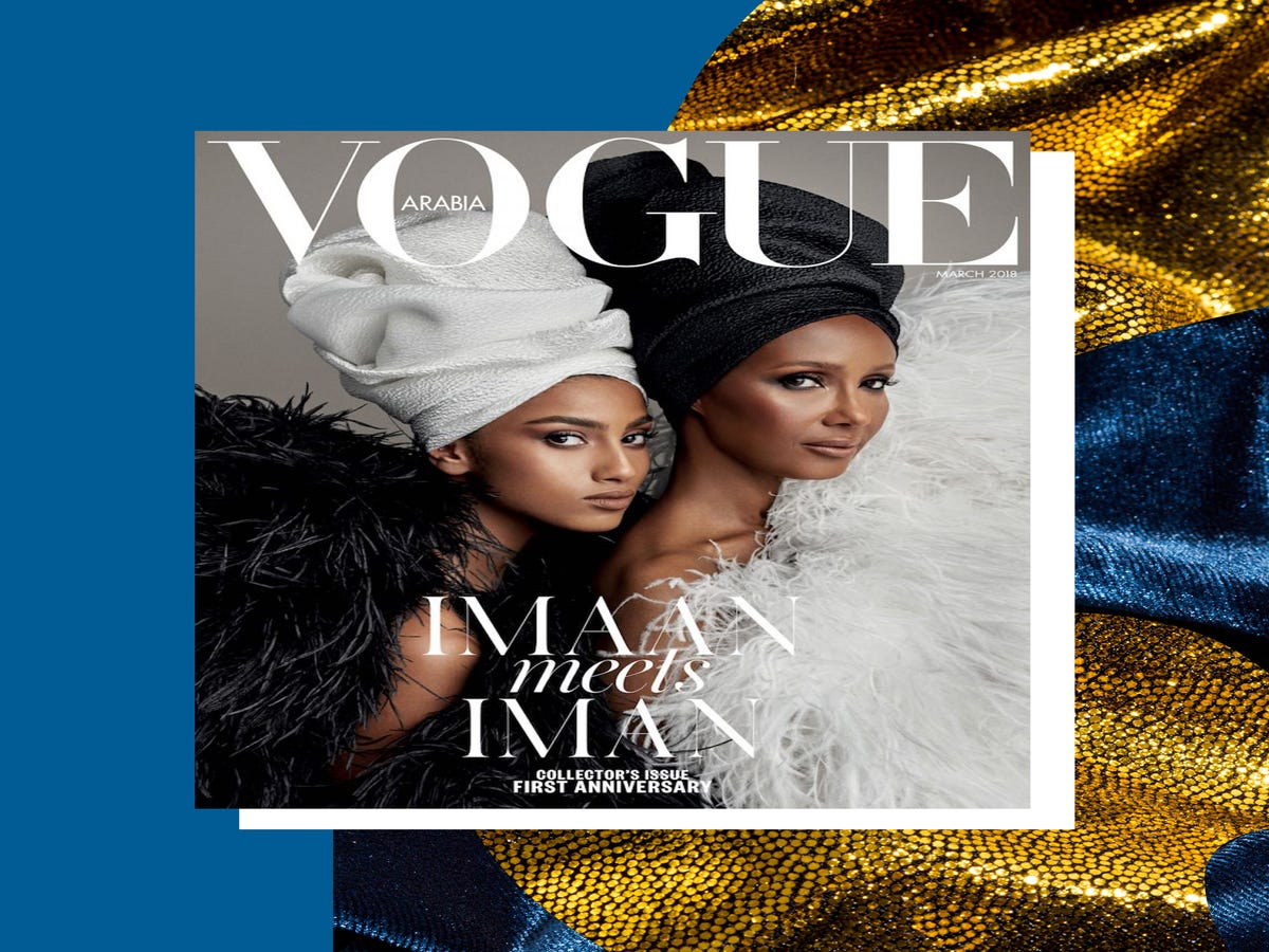 Vogue Arabia's Cover Celebrates Black & Brown Beauty