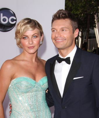 Ryan Seacrest Laughs Off Awkwardness Of Reporting Julianne Hough S Wedding