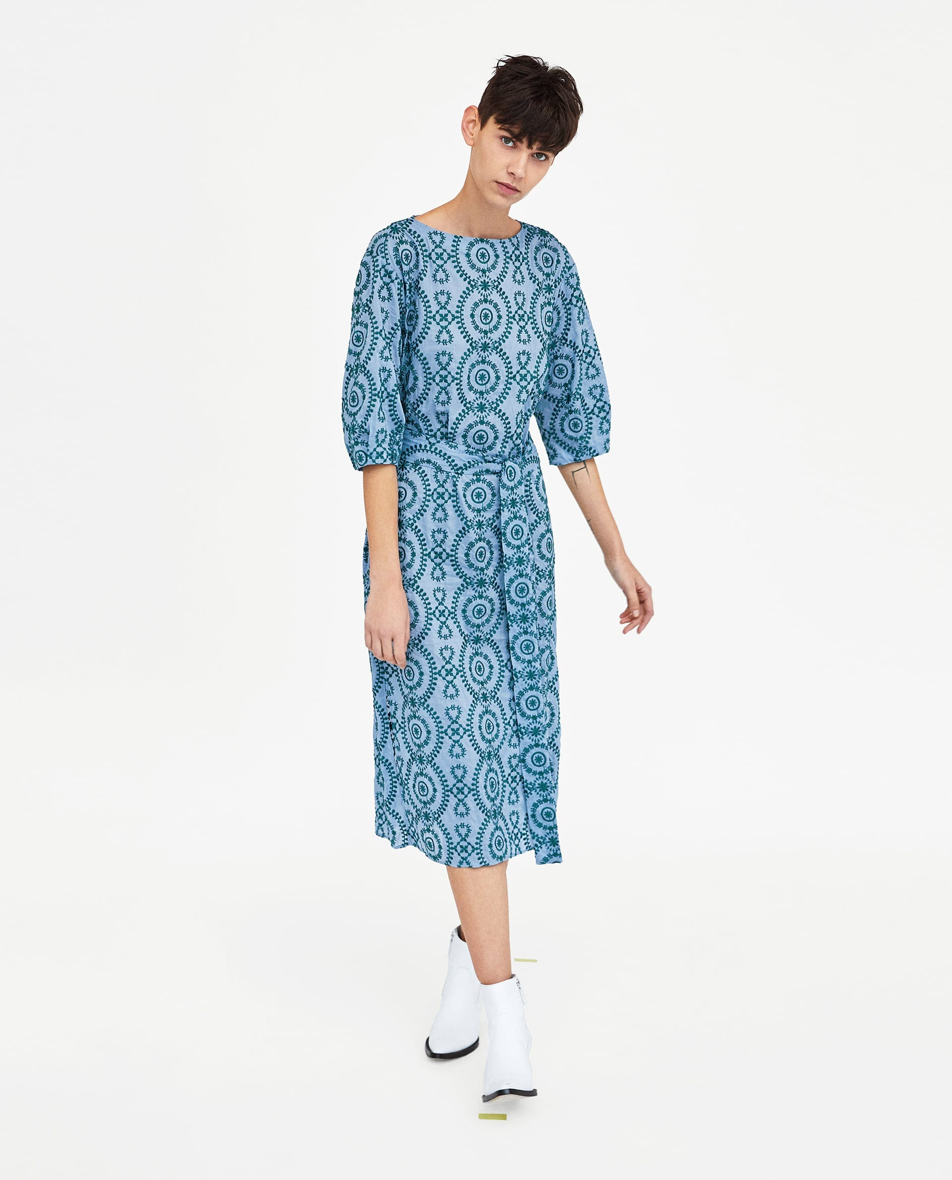 f0e3ea00 Midi Dresses At Zara | Saddha