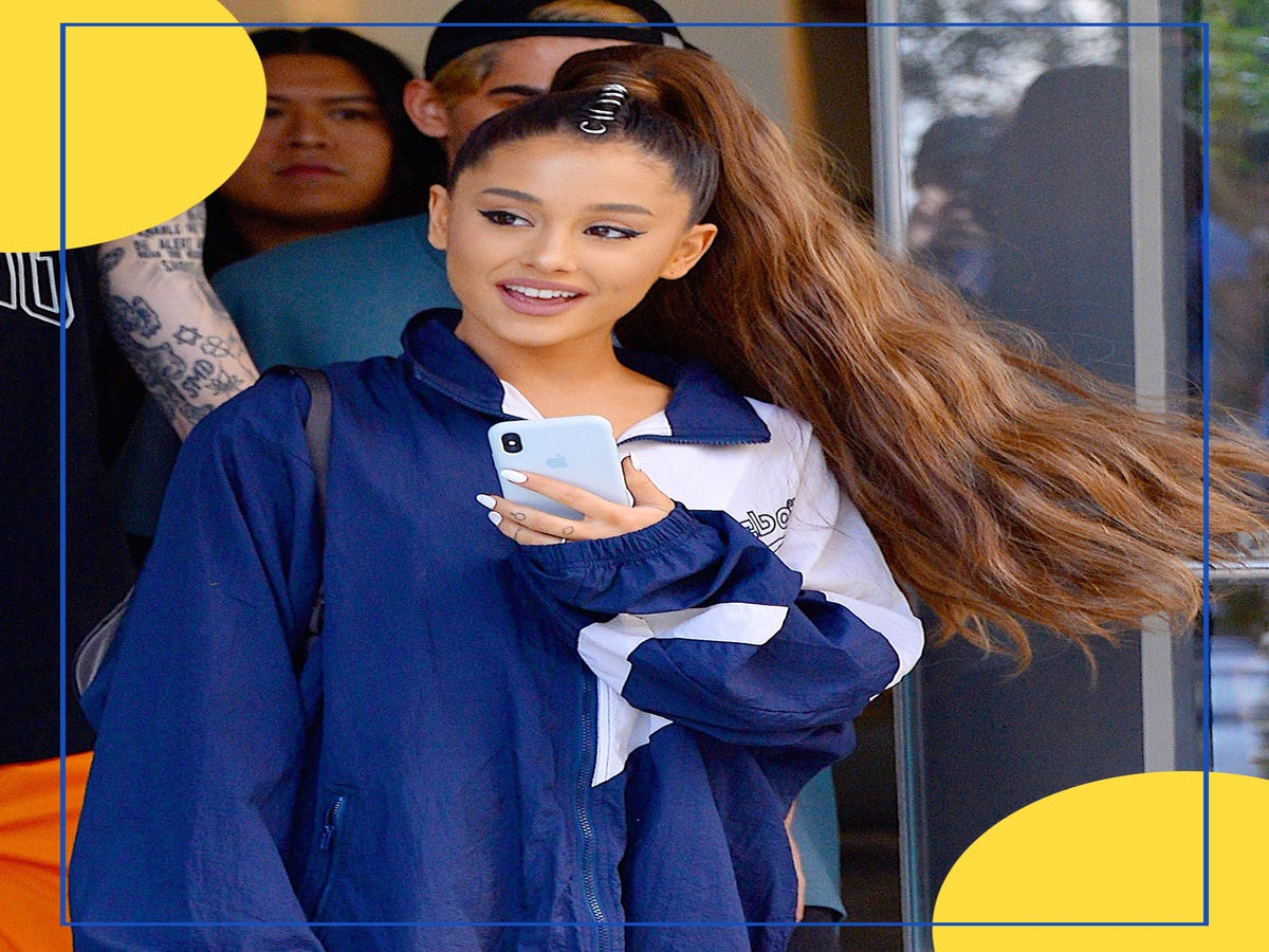 Ariana Grande Proves There s Always Time For A Hair-Color Appointment