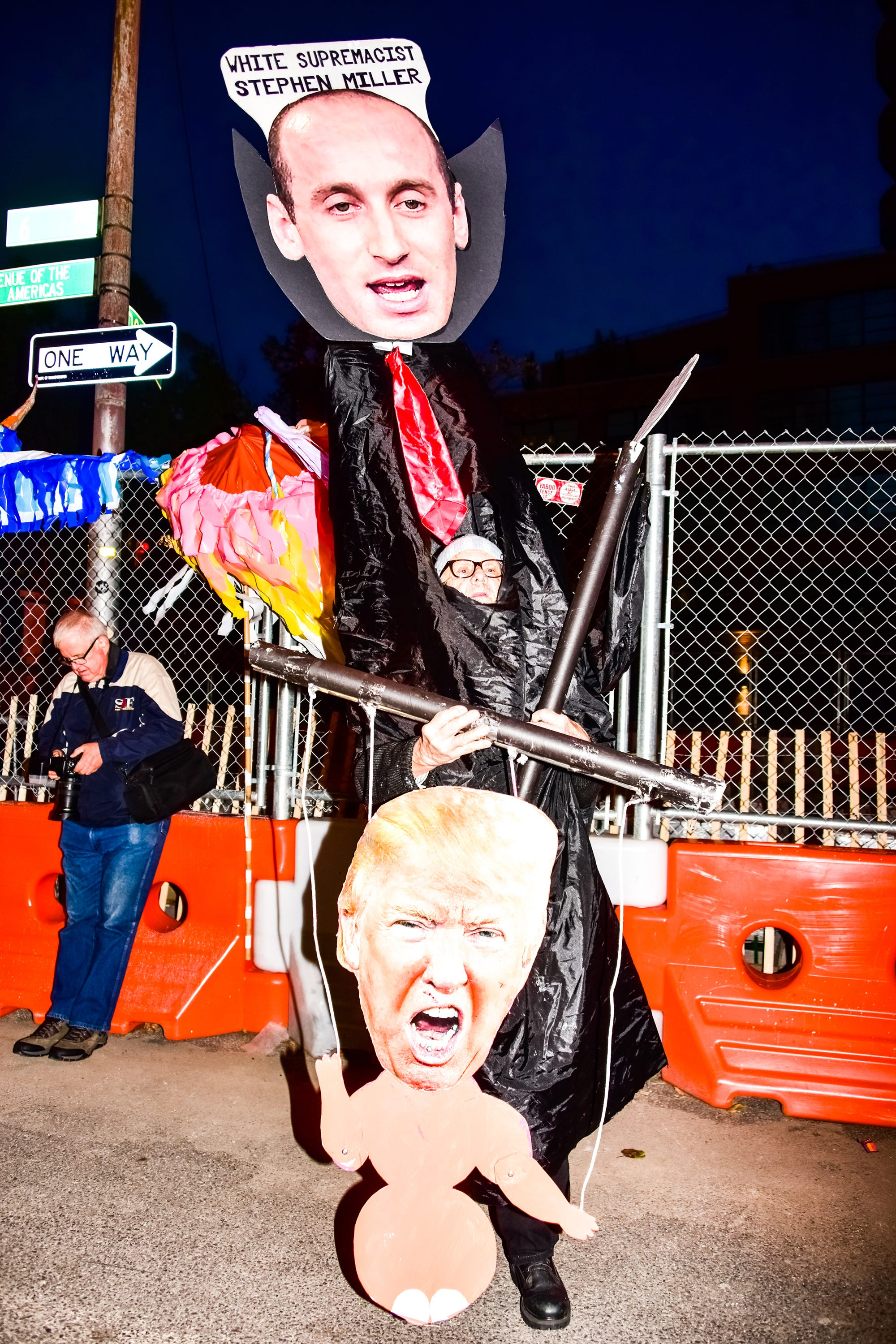 best political costumes nyc halloween parade 2017