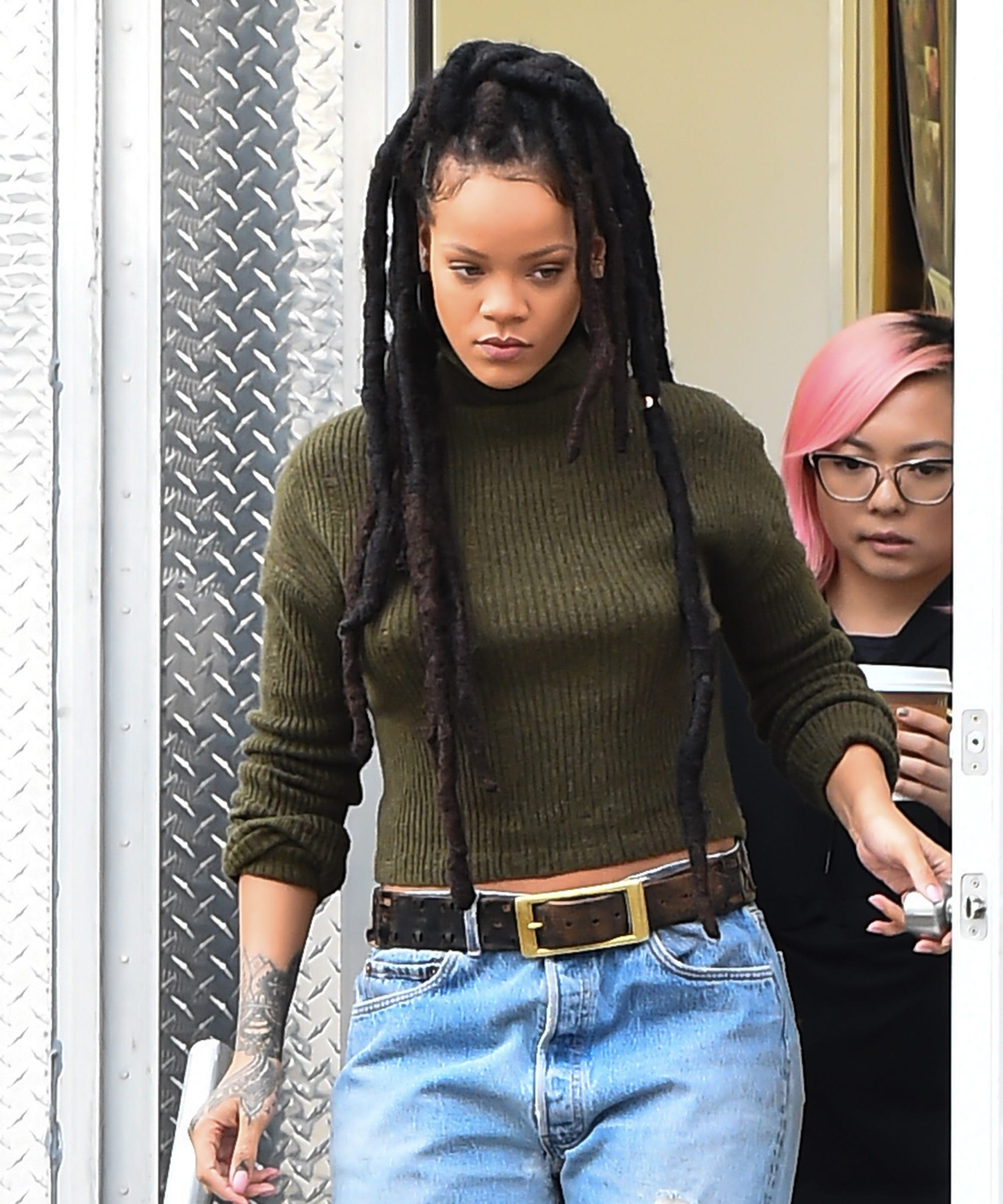 Rihanna Explains Her Locs Hairstyle Choice In Oceans 8