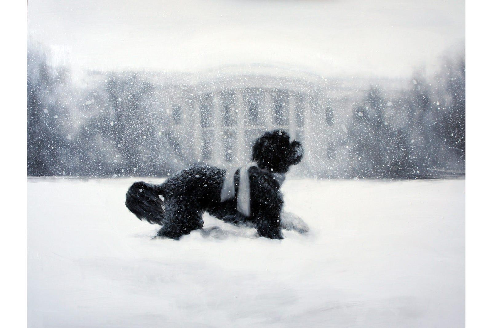 President Obamas Holiday Cards Last Christmas