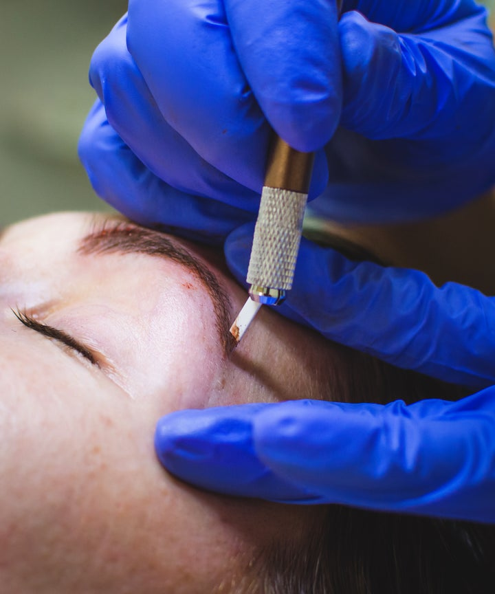 Eyebrow Tattoo Feather Microblading Horror Story Photos