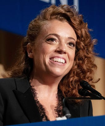 Michelle Wolf at White House Correspondents Dinner 2018.