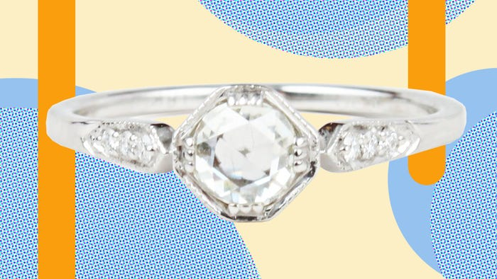 67d460147a9b3 Where To Buy Gorgeous Vintage Engagement Band