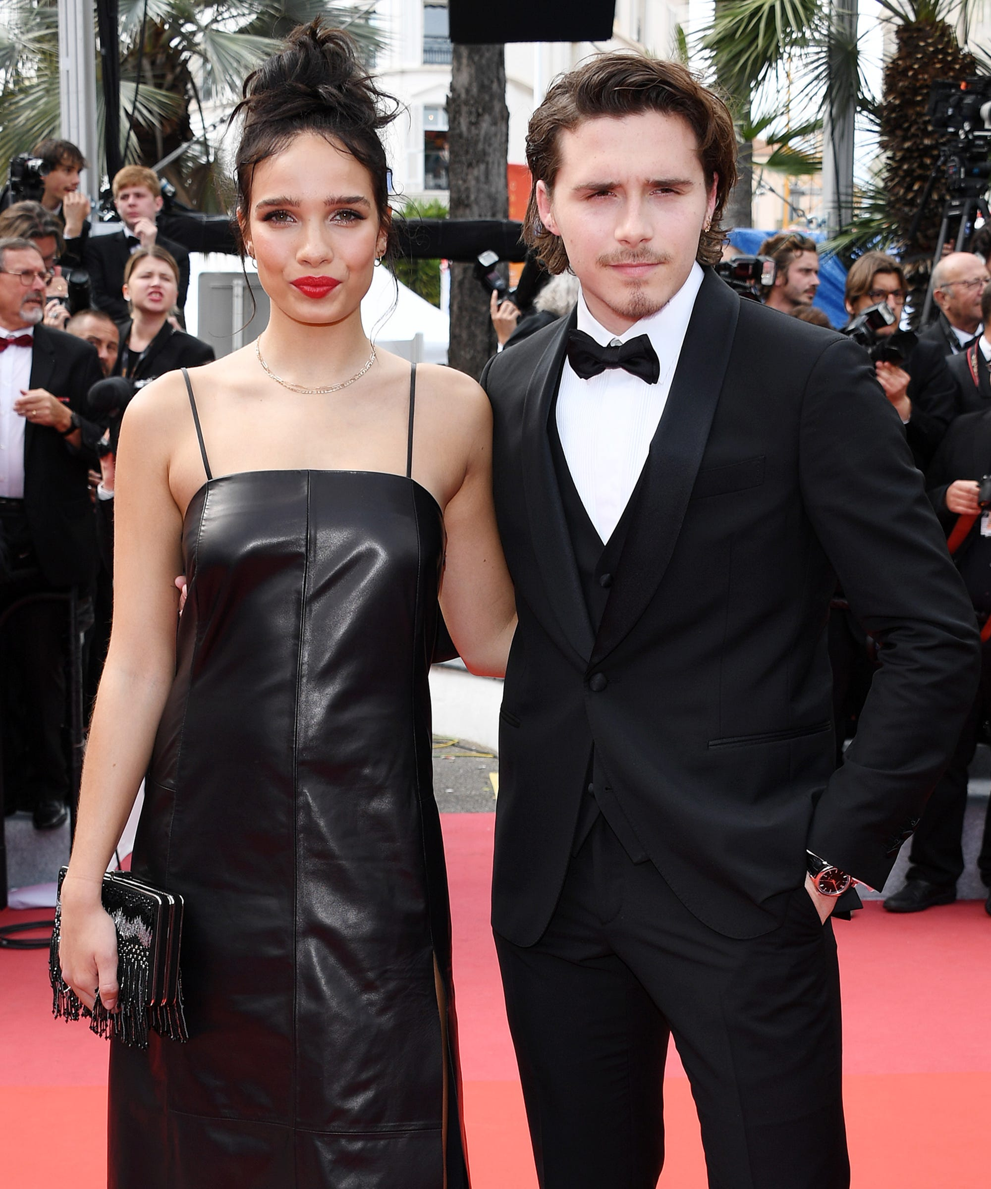 Brooklyn Beckham & Girlfriend Hana Cross Finally Made Their Red Carpet Debut